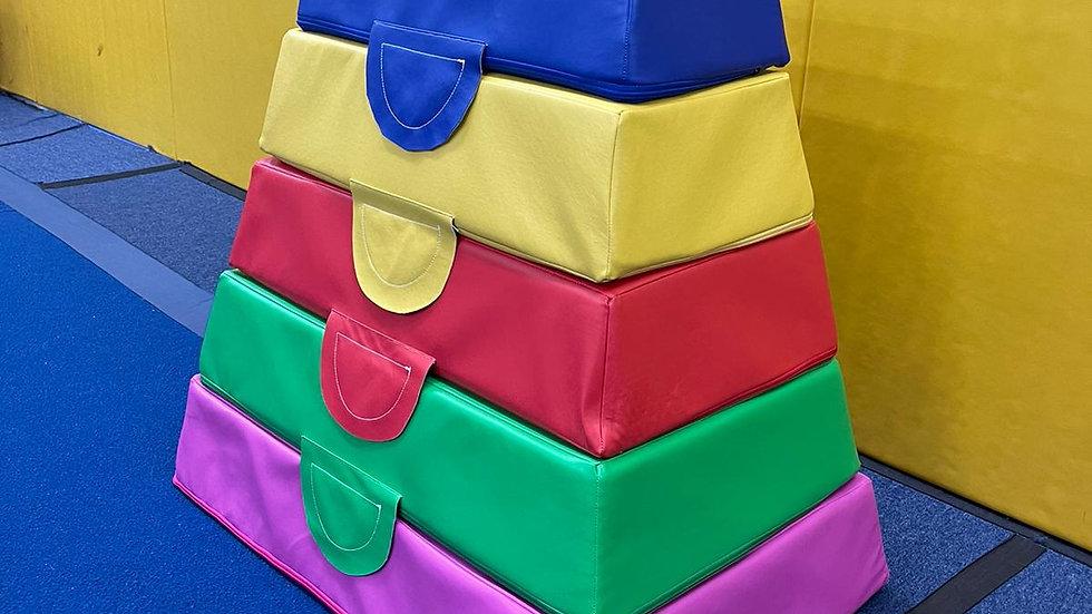 Gymnastics Blocks x 5/Set