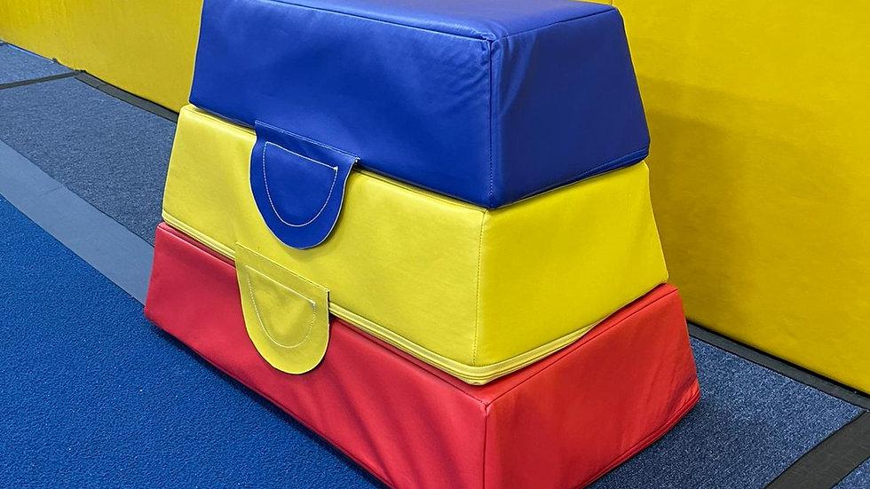 Gymnastics Blocks x 3/Set