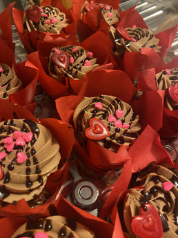 Valentine's Day Chocolate Raspberry