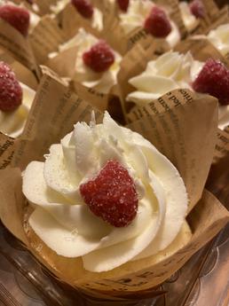 Sparkling White Chocolate Raspberry