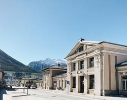 Train Station Bad Gastein
