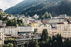Bad Gastein city view