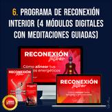 Programa de Reconexión Interior (4 módulos con meditaciones guiadas)