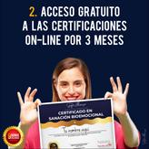 Acceso a certificaciones on-line por 3 meses
