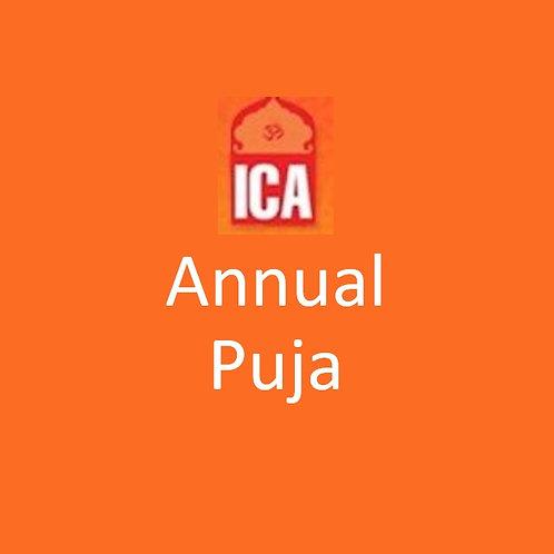 Annual Puja Sponsorship