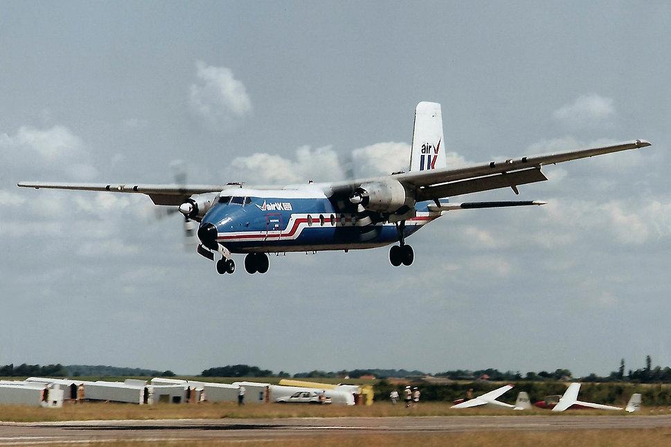 G APWJ Air UK DAS Duxford 7 Jul 1985 158