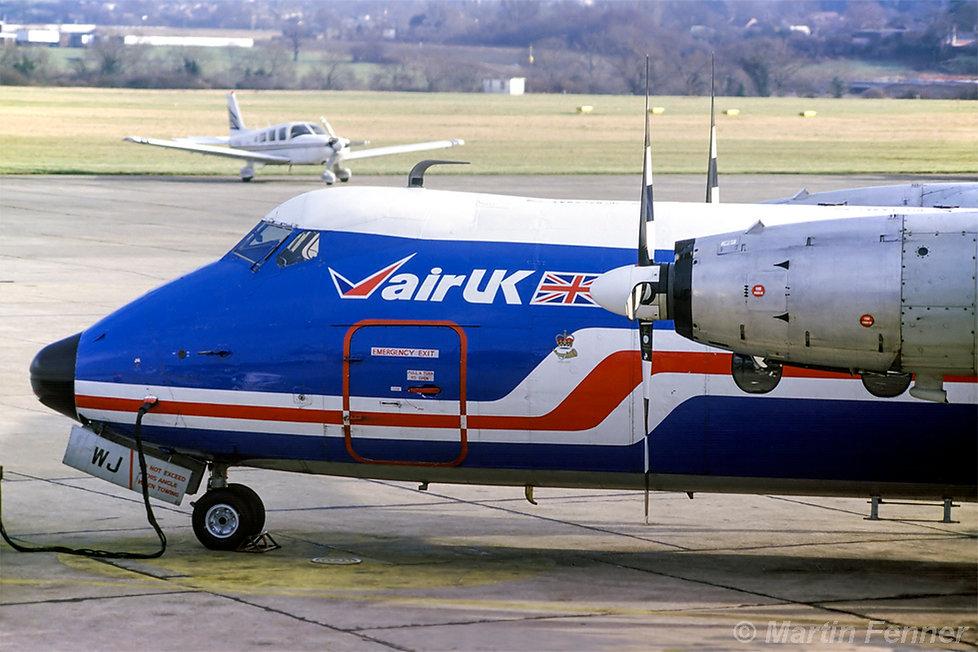 G-APWJ_Herald_201_Air_UK_Southampton_Apr