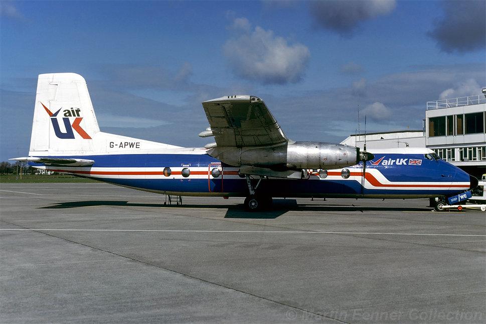 G-APWE_Herald_201_Air_UK_Jersey_Aug82_MF