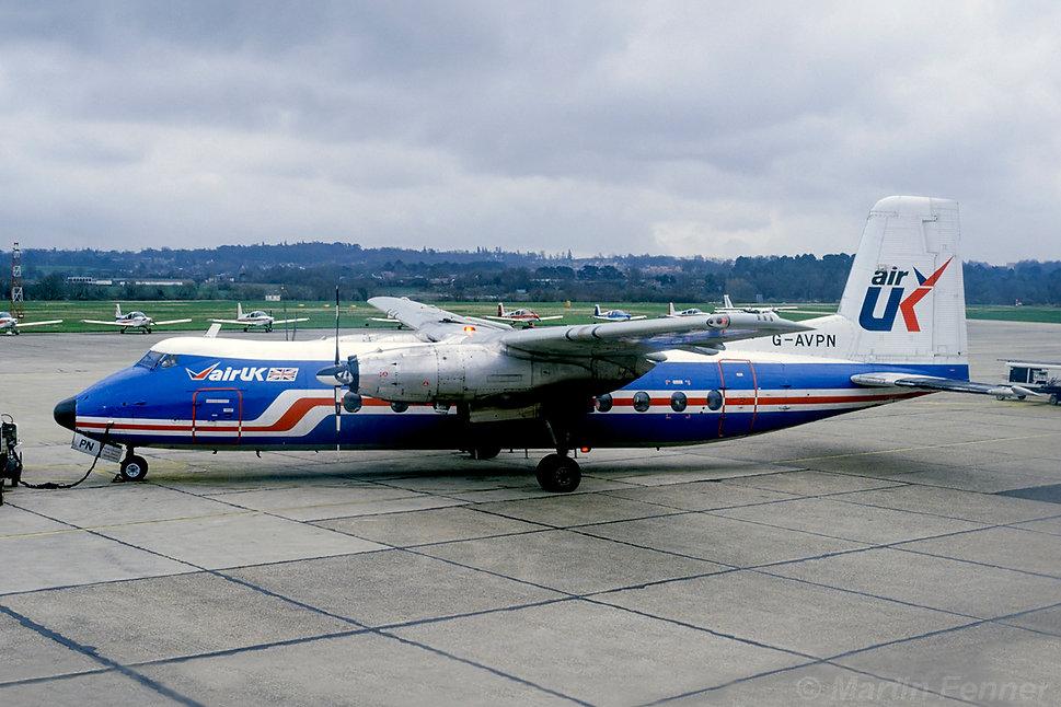 G-AVPN_Herald_213_Air_UK_Southampton_Apr