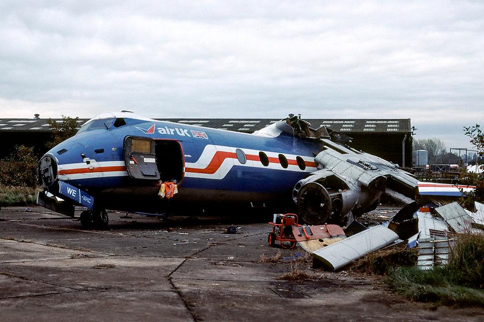 G-APWE_Herald_201_Air_UK_Norwich_Dec84_T