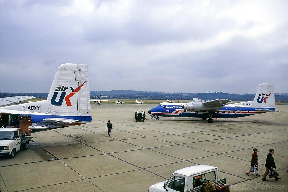 G-ASKK_G-APWJ_Heralds_Air_UK_Southampton
