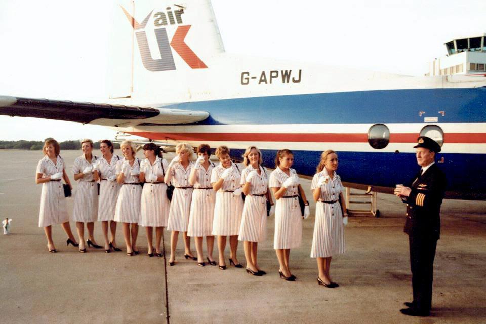 G APWJ Air UK JER 29 Jun 1985 Capt J A S