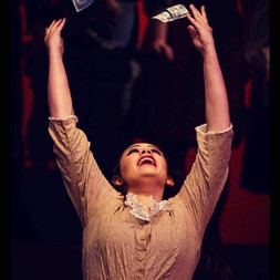 Still from Community Theatre production Evita