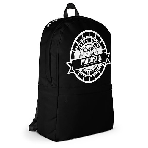 Religiously Incorrect Podcast Branded Backpack b