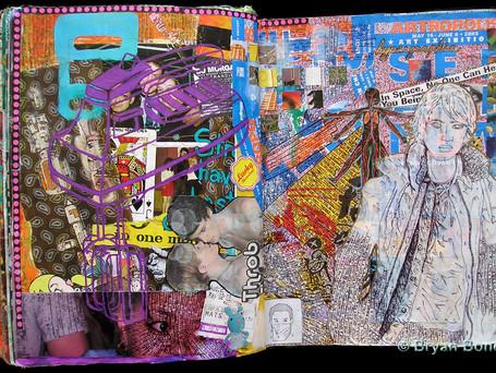 Sketchboook Art Dec 2001 - May 2003