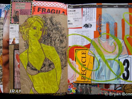 Sketchbook Art March 2008 - Nov 2009
