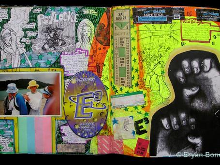Sketchboook Art June 1999 - Nov 1999