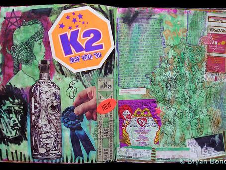 Sketchboook Art June 1998 - May 1999