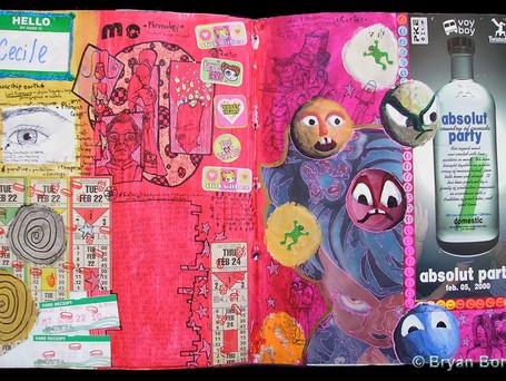 Sketchboook Art Dec 1999 - March 2000