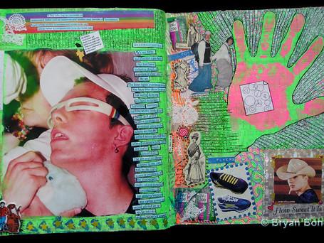 Sketchboook Art July 2000 - Nov 2000