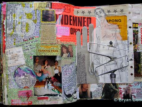 Sketchboook Art May 2003 - June 2005
