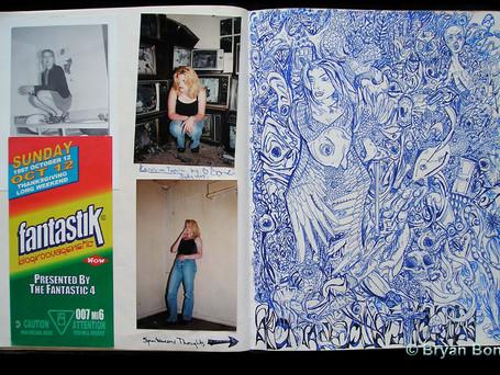 Sketchboook Art Sept 1997 - May 1998