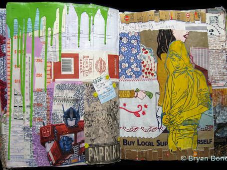 Sketchbook Art July 2005 - Dec 2007