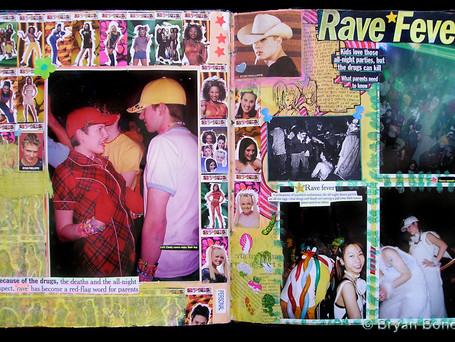 Sketchboook Art March 2000 - June 2000