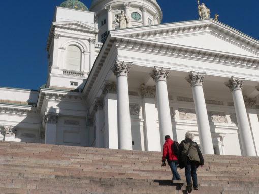 Walk Helsinki, kaupunki kävelyt, senaatintori