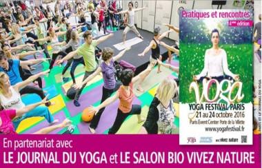"""Invitations pour le """"Yoga Festival de Paris"""" !"""