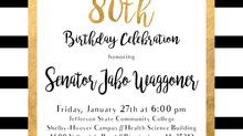 Celebrate Senator Waggoner's 80th Birthday!