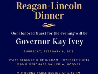 Reagan-Lincoln Dinner Details