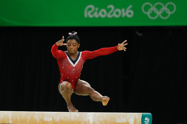 Inspirational athlete Simone Biles