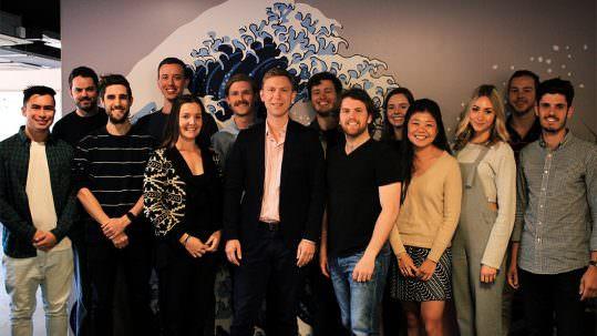Zac Zavos and his team at Conversant Media