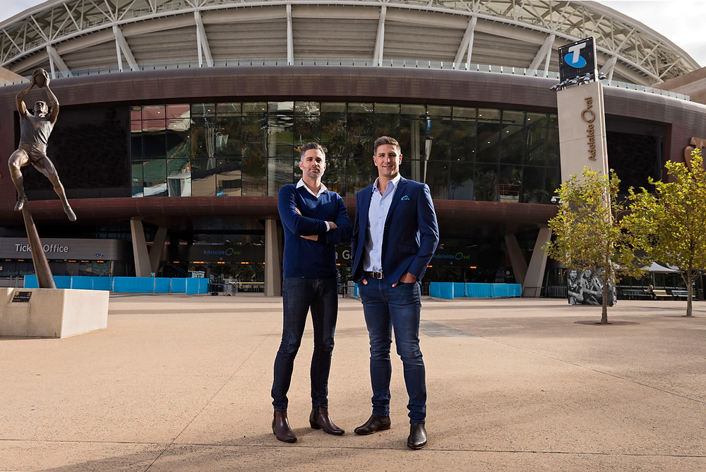 PickStar founders James Begley and Matthew Pavlich