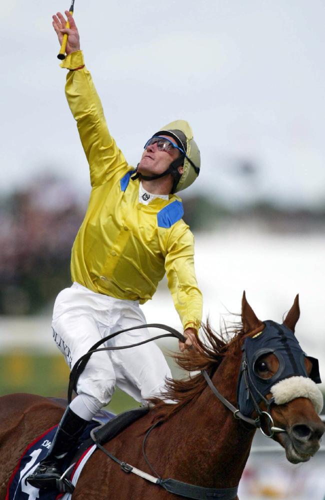 Damien Oliver, 2002 Melbourne Cup
