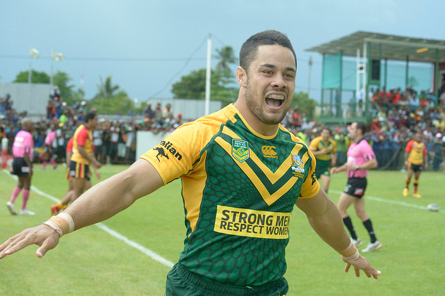 Jarryd Hayne is a well known multi-sport athlete