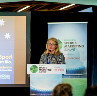 Australian Paralympic Committee CEO Lynne Anderson