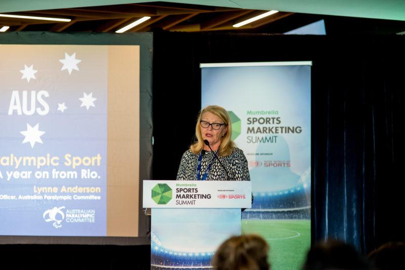 Lynne Anderson at Mumbrella Sports Marketing Summit
