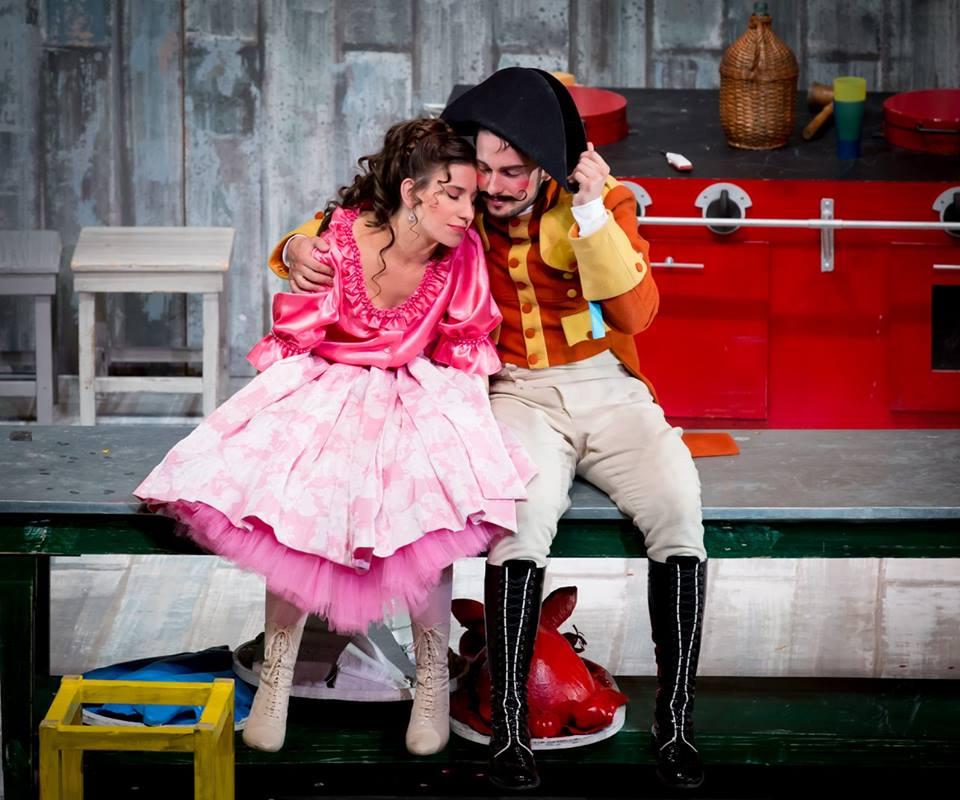 Nina and Teodoro