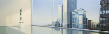 Giacometti en Nueva York