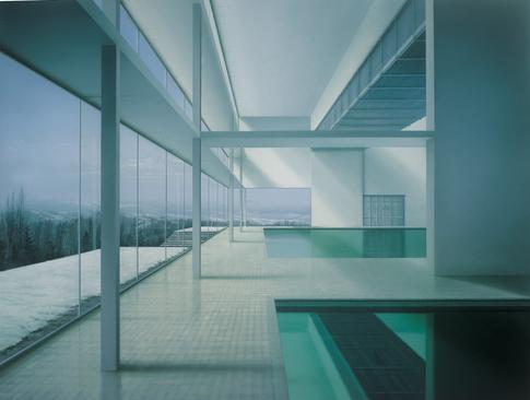Blanco sobre blanco o Ercilla, Malevich y Campos conversando, detalle.