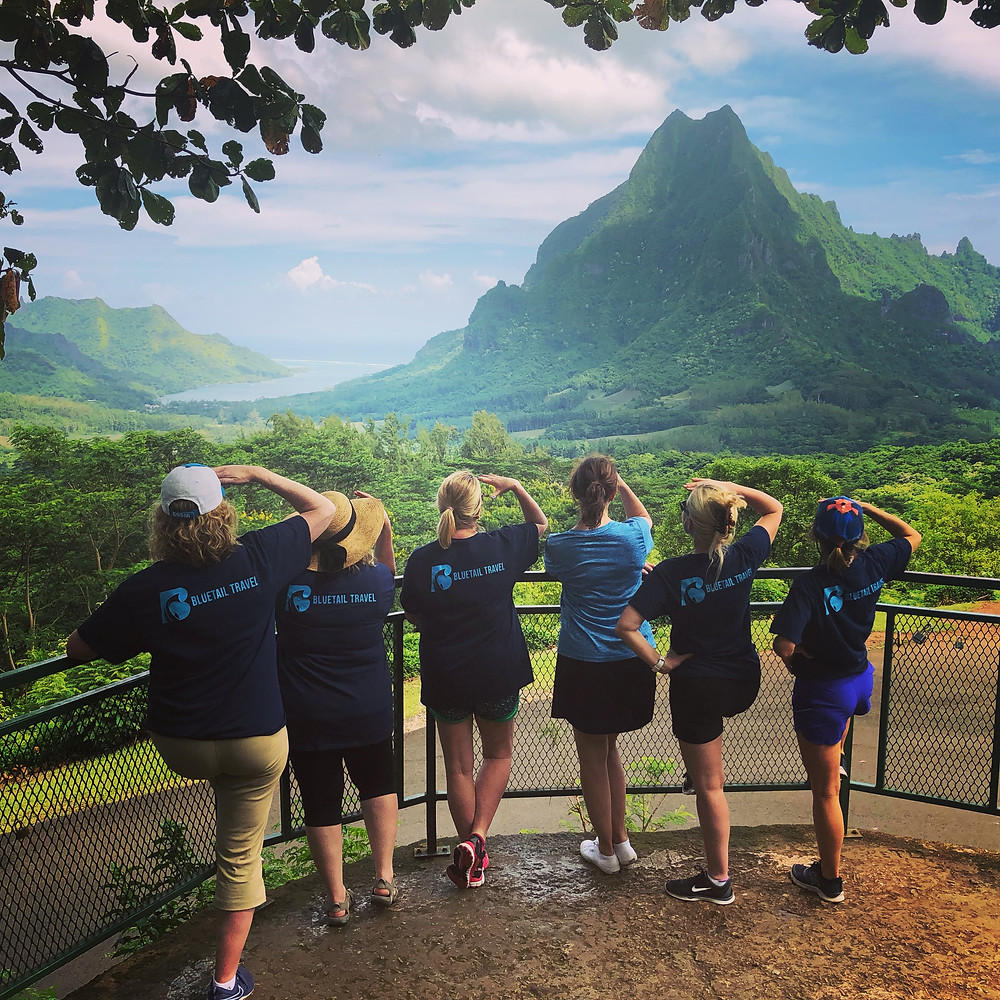 Bluetail Travel luxury travel group Tahiti