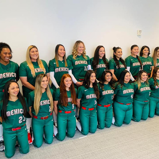 Selección femenil de sóftbol con la mirada en Tokio