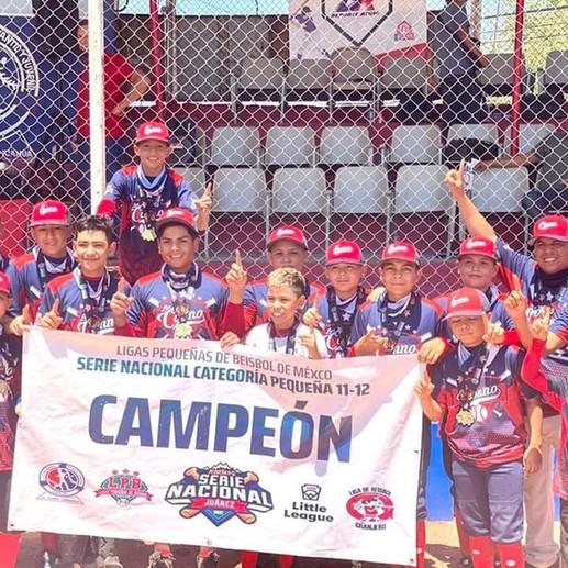 Liga Conno Campeón Nacional 11-12   BeisJoven