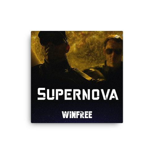 Supernova 16in x 16in Canvas