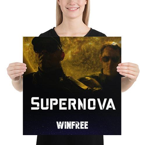 Supernova 18in x 18in Poster