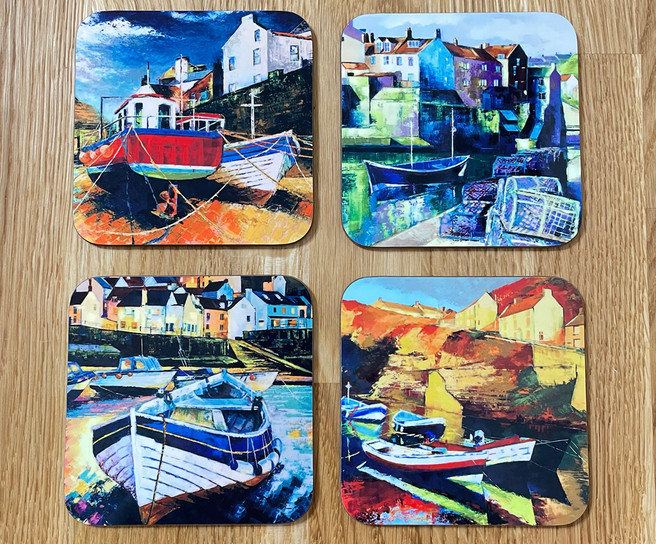Staithes Coasters