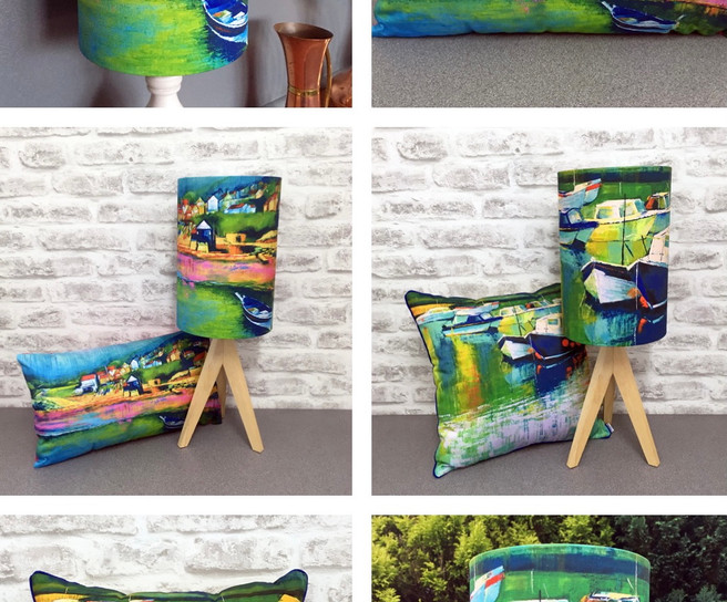Lamps and Cushions 1
