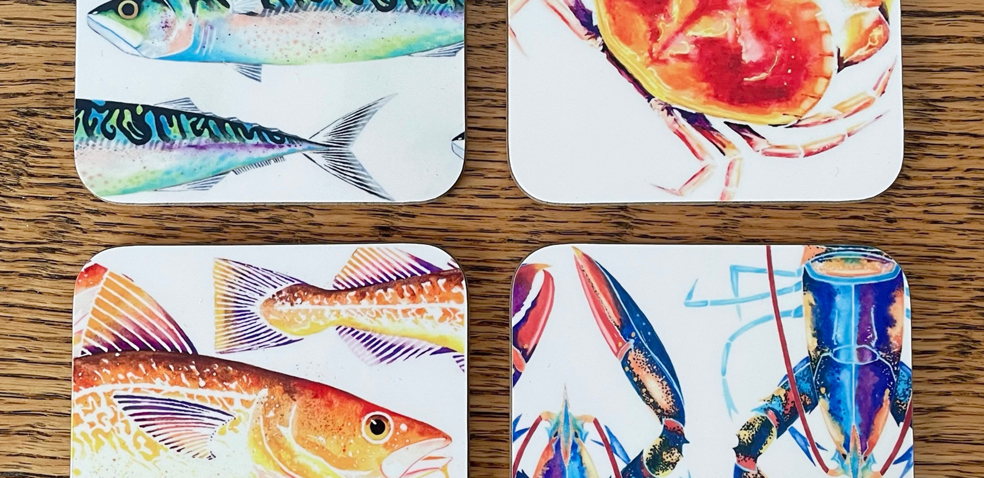 Sealife Coasters